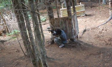 Paintball match